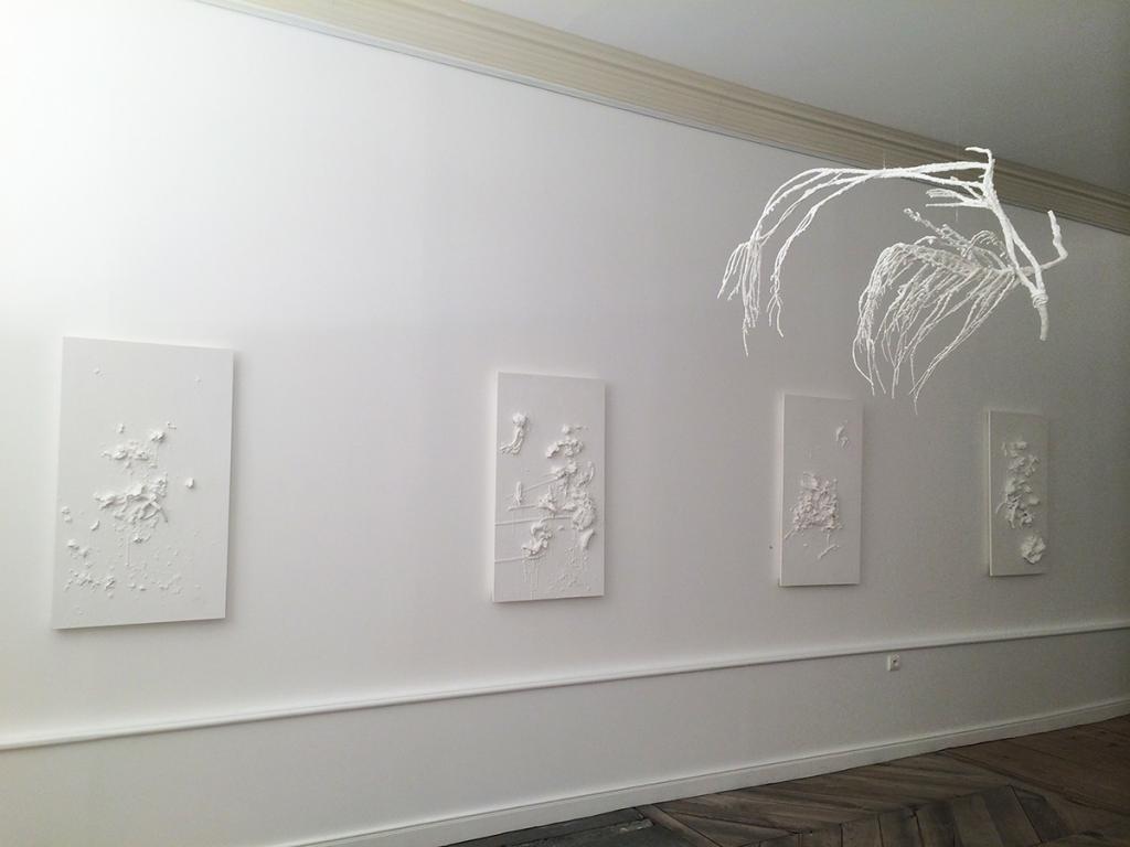Portraits abstraits et Romarin, Galerie l'Antichambre Chambéry
